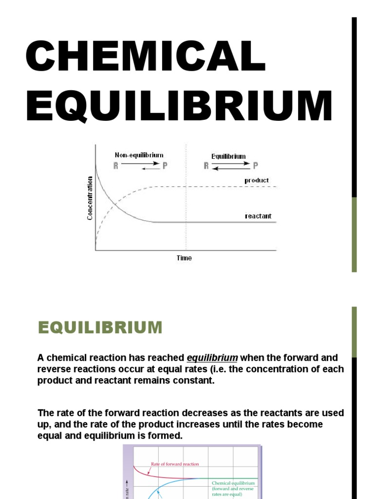chemical equilibrium weebly notes | Chemical Equilibrium
