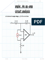 Example an Op Amp Circuit Analysis Lecture