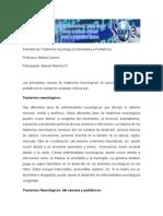 Actividad de Trastornos Neurológicos Neonatales y Pediátricosmariucla14