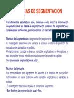 Tema 6 Presentacióntecnicasde Segmentación