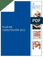 Plan de Capacitacion 2012