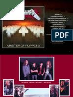 Digital Booklet - Master of Puppets
