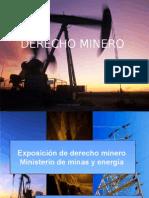 Diapositivas de Derecho Minero