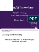 Interview Presentation 2 2013