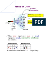 INTERFRENCE OF LIGHT WAVE.doc