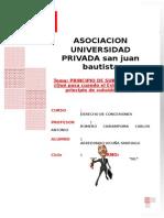 Trabajo - Principio de Subsidiariedad