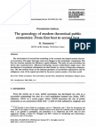 Genealogy of Public Economcis