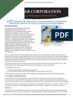 Agar Corporation - Nota de Aplicación_ Drenaje Automático Del Tanque