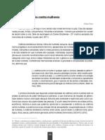 A Violência Contra Mulheres - O Direito Achado Na Rua Vol. 05 - Introdução Crítica Ao Direito Das Mulheres