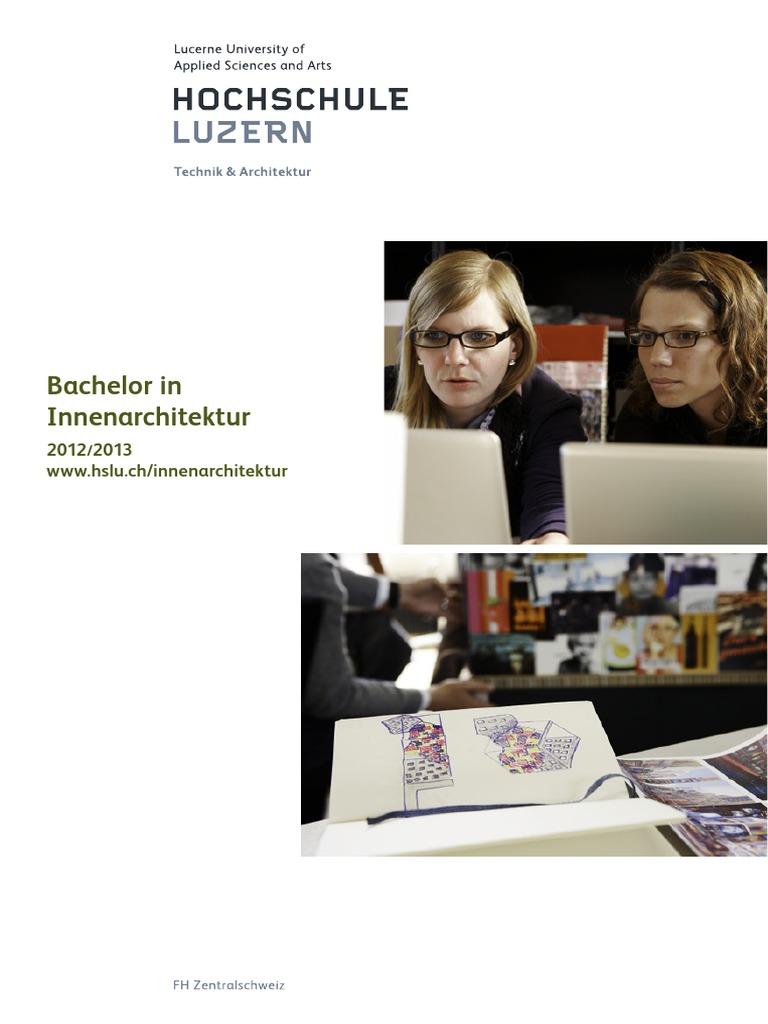 Studienfuehrer Innenarchitektur 21   PDF