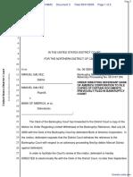 Galvez v. Bank of America Corporation et al - Document No. 3