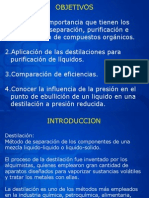 Destilación Fundamento