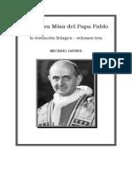 LA NUEVA MISA DEL PAPA PABLO - Michael Davis