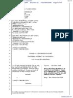 National Federation of the Blind et al v. Target Corporation - Document No. 60