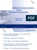 Corporate Presentation (Link q)