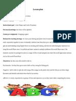 lesson plans for website