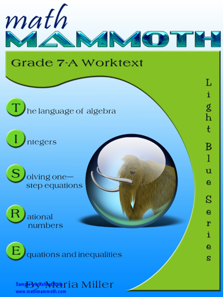 math mammoth for 7th math | Fraction (Mathematics) | Multiplication