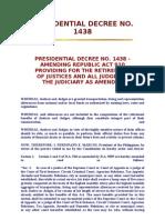 Presidential Decree No. 1438