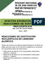 Sustitución nucleofílica Química Orgánica I.pptx
