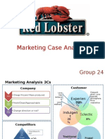 internet marketing case study red lobster Red lobster need to find a new positioning, while keeping fresh (according to exhibit 6a, freshness is the most important factor when customers select seafood) exhibit 6a also showed that customers think cleanliness, quality and taste/preparation are very important, so tasty fresh seafood and best fresh seafood are all good.