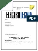 Desarrollo de La Electricidad