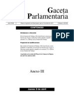 Dictamen de la Comisión de Trabajo y Previsión Social, con proyecto de decreto por el que se adicionan sendos párrafos segundo a los artículos 33 y 1006 de la Ley Federal del Trabajo