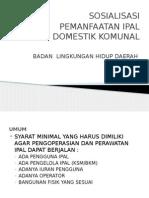 Presentasi IPAL komunal