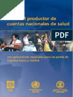 WHO Guia Cuentas Nacionales