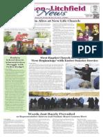 Hudson~Litchfield News 4-10-2015
