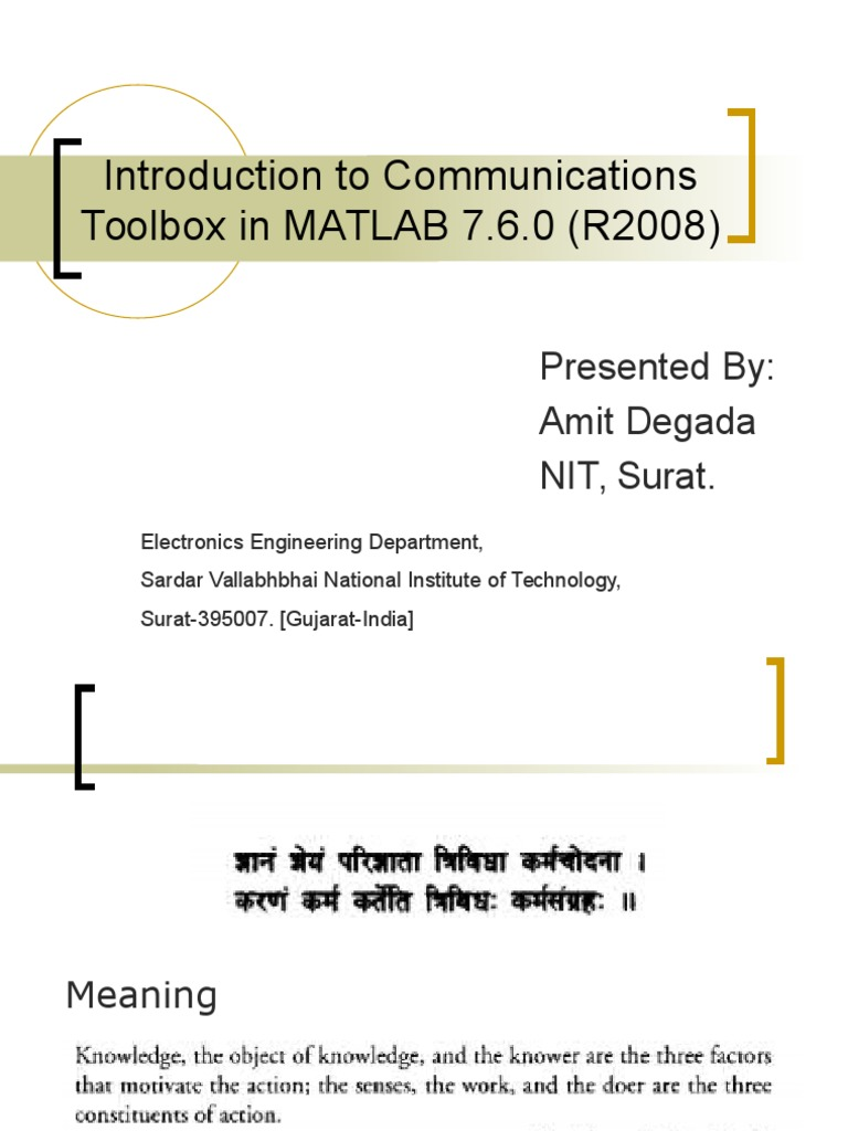 Introduction to Communications Toolbox in Matlab 7 | Modulation