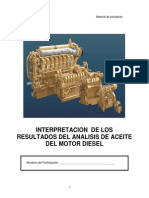 Modulo II Interpretacion de Los Resultados Del Analisis de Aceite Del Motor Diesel
