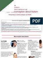 misconception about autism