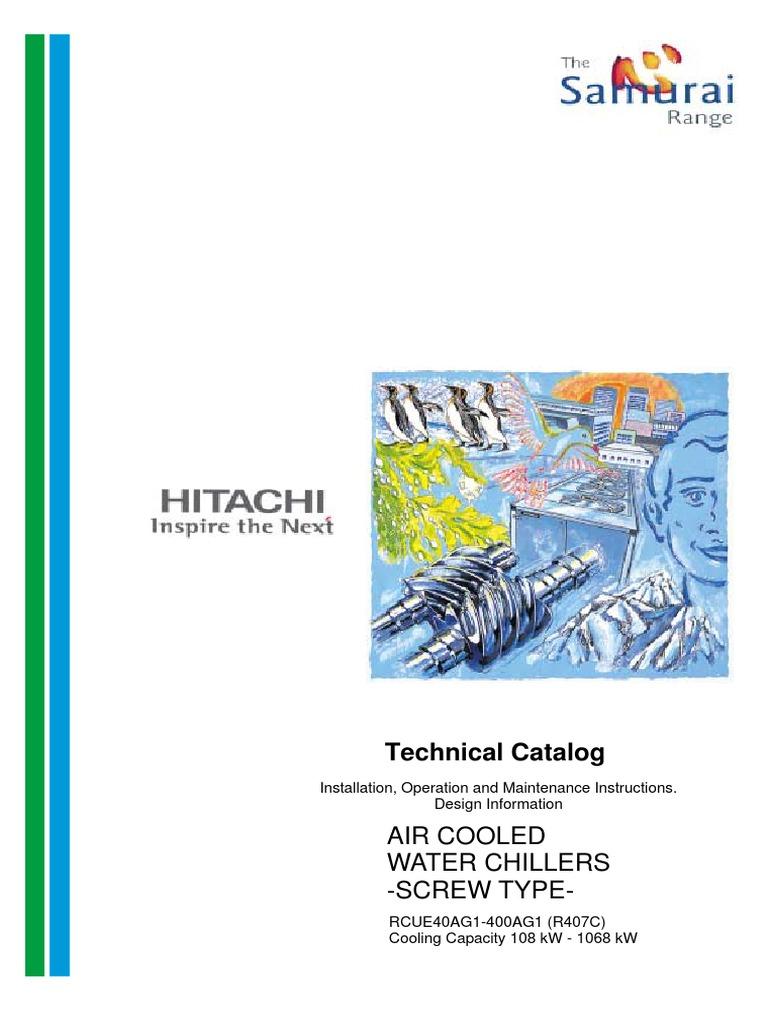 Tc Rcue40 400ag1pdf Heat Exchanger Switch Trane Wiring Diagrams Model Echalon