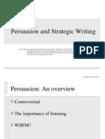 SW10 Persuasion