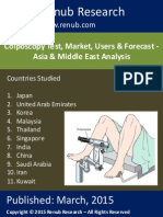 Colposcopy Test, Market, Users & Forecast - Asia & Middle East Analysis