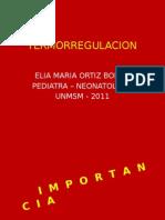 Termorregulacion del recién nacido