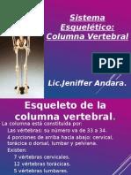 SISTEMA Esqueletico Columna Vertebral Jeni