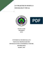 Laporan Praktikum Modul 8 Pemograman Visual