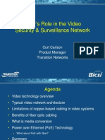 Fiber's Role in the Video Security and Surveillance Network