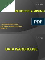 Data Warehouse & Mining Notes