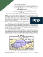Studies on Groundwater Quality in and Around Kothamangalm Taluk, Kerala, India