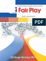 Fair Play - Quarterly Newsletter of Competition Commission of India - Vol. 11