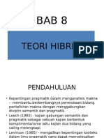 Bab 8 Teori Hibrid