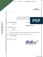 Pioneer Corporation-v-Samsung SDI Co Ltd. - Document No. 3