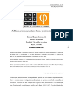 Problemas cartesianos y kantianos frente a la interacción alma y cuerpo -  Esteban Morales Herrera , S.I.