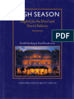 High Season- English for Hotel & Tourist Industry SB