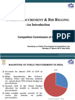 Public Procurement & Bid Rigging - An Introduction