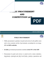 Public Procurement and Competition Law