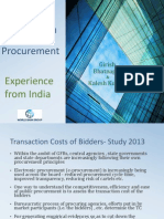 Improving Competition in Public Procurement -1