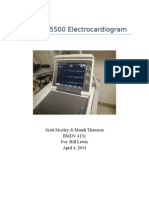 ge mac 5500 electrocardiogram